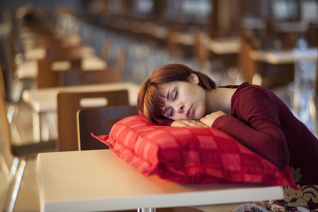 śpiąca kobieta2